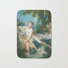 """François Boucher """"Venus Consoling Love"""" Bath Mat"""