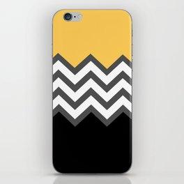 Color Blocked Chevron 6 iPhone Skin