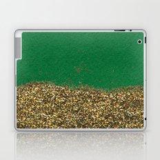 Dipped in Gold, Emerald Laptop & iPad Skin