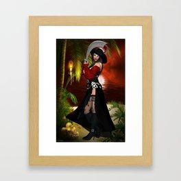 Calipso 2 Framed Art Print