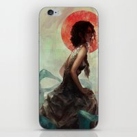witchcraft iPhone & iPod Skins featuring Witchcraft by Camila Vielmond