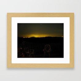 El Cielo sobre Granada Framed Art Print
