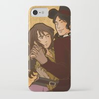 dancing iPhone & iPod Cases featuring Dancing by Atzagaia