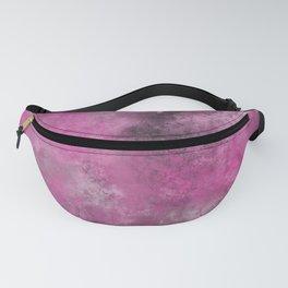 Hot pink tie dye nebula Fanny Pack
