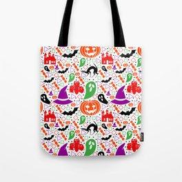 Playful Halloween pattern Tote Bag
