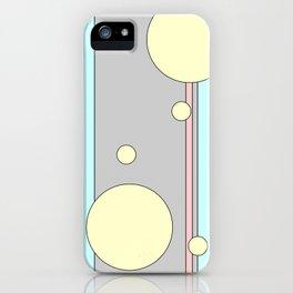 Bubble Stripe Curtains iPhone Case