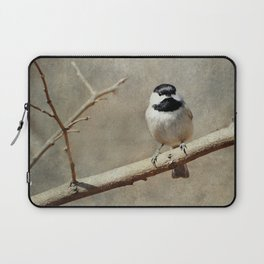 Black-capped Chickadee Laptop Sleeve