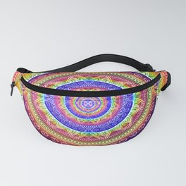Cosmic Journey Mandala Fanny Pack