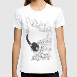 Dog With Headphones T-shirt