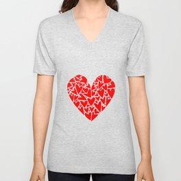 Heart from Hearts Unisex V-Neck