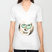 cook V-neck T-shirts featuring - cook - by Digital Fresto