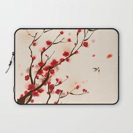 Oriental plum blossom in spring 005 Laptop Sleeve