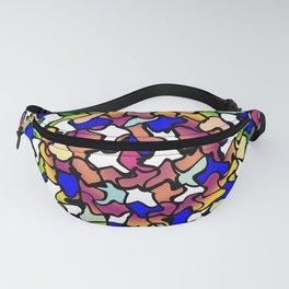 Wobbly Vibrant Tiles Fanny Pack