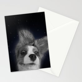falling through space Stationery Cards