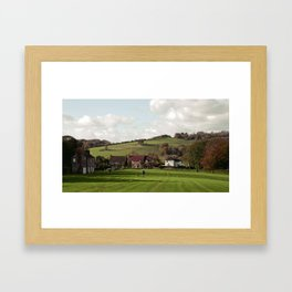 Nepcote Green, Findon, West Sussex Framed Art Print