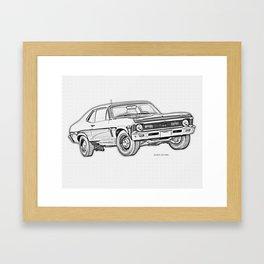 1968 Nova Framed Art Print