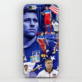Matt Besler World Cup USMNT Collage iPhone Skin