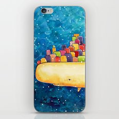 Snow Whale iPhone & iPod Skin