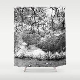 Oaxaca Mountain Shower Curtain