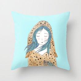 Selkie Throw Pillow