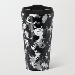 Shades of Gray and Black Oils #1979 Travel Mug