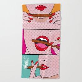 comics Beach Towel