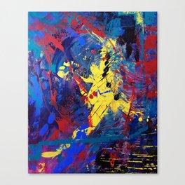 Dance When You Walk Canvas Print