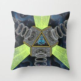Vectron Equilibrius Throw Pillow