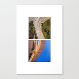 CURVES OF LOS ANGELES Canvas Print