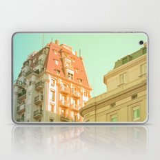 Day is Done (Retro and Vintage Urban, architecture photography) Laptop & iPad Skin