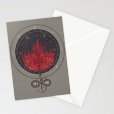 Fading Dahlia Stationery Cards