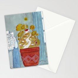Microcosmos Stationery Cards
