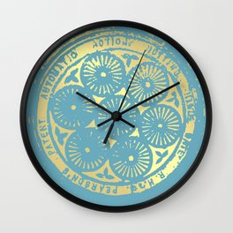 flower power of one Wall Clock