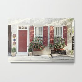 Charleston 25 Queen Street Metal Print