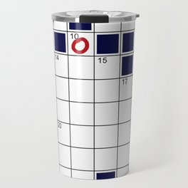 crosswords Travel Mug