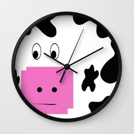 Holy Cow! Wall Clock