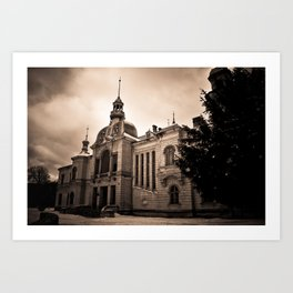 The Old Palace Art Print