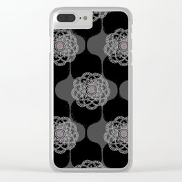 I DREAM OF GENIE - BLACK/GREY/PINK Clear iPhone Case