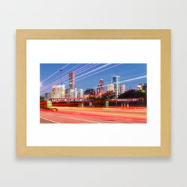 """Tonight, I decided to """"Be Someone"""" Framed Art Print"""
