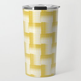 Golden Waves Travel Mug