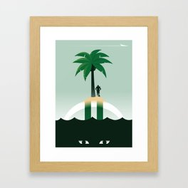 Revis Island Framed Art Print