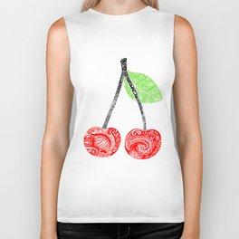 Cherries Biker Tank