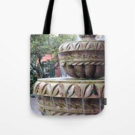 St Augustine Fountain 1 Tote Bag