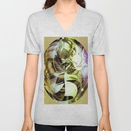 """""""Held Together With Duct Tape 2"""" Unisex V-Neck"""