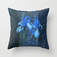 Iris on Film Throw Pillow