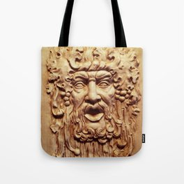 Face From a Fountain Tote Bag