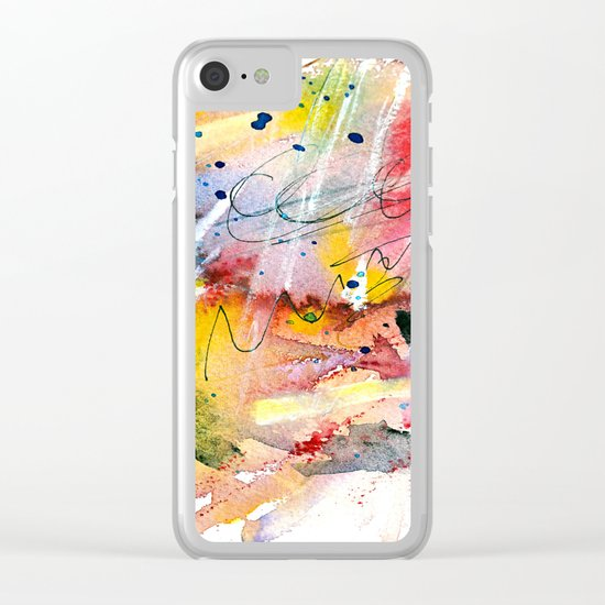 heart of stone Clear iPhone Case