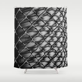 FENCE NO.7 Shower Curtain