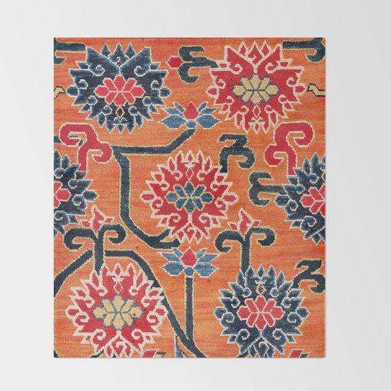 Shigatse South Tibetan Jabuye Rug Print by vickybragomitchell