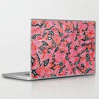 targaryen Laptop & iPad Skins featuring Taryn by Leah Moloney